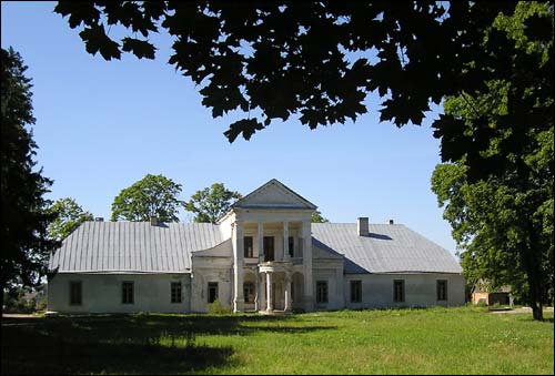 Padarosk. Manor of Čačot (Czeczott)