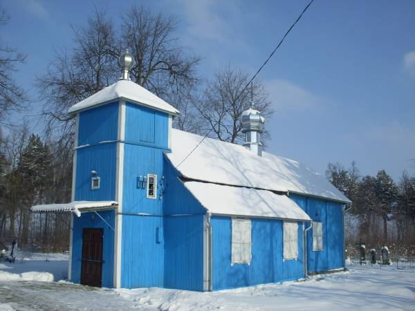 Voŭpa. Orthodox church of St. Peter and St. Paul
