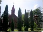 Minojty.  Catholic church of the Sacred Heart of Jesus and St. Andrew Bobola
