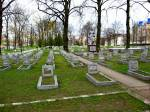 Hrodna town - cemetery Soldierly