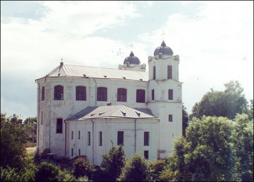 Mścisłaŭ. Catholic church of the Assumption of the Blessed Virgin Mary