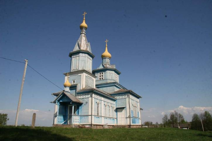 Jodčycy. Orthodox church of the Protection of the Holy Virgin