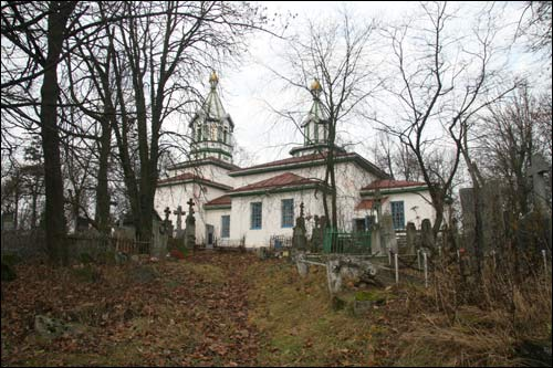 Kleck. Orthodox church of the Protection of the Holy Virgin