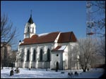 Minsk.  Catholic church of the Holy Trinity (St. Roh)