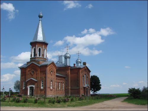 Barok (Basłavičy).  Orthodox church of St. Simeon