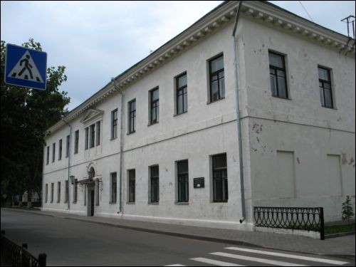 Słuck.  The building of the former gymnasium