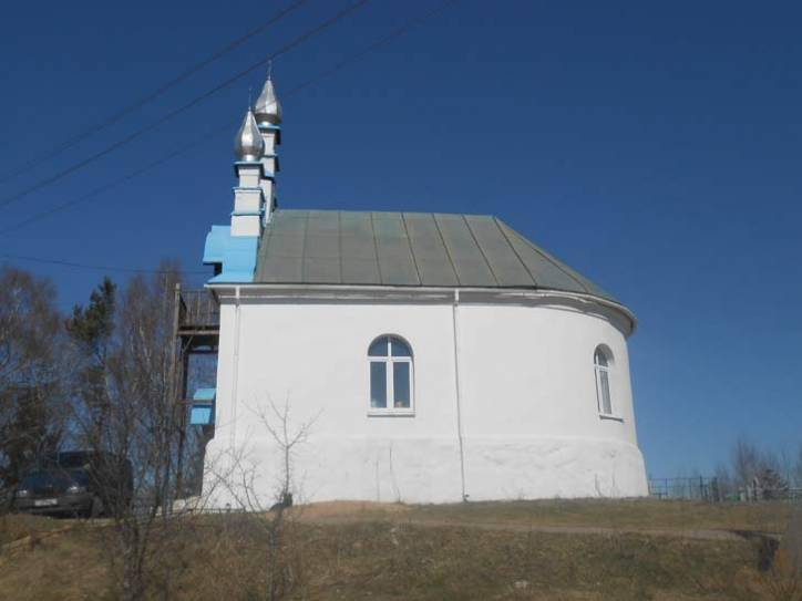 - Orthodox church of St. Elijah. Side view