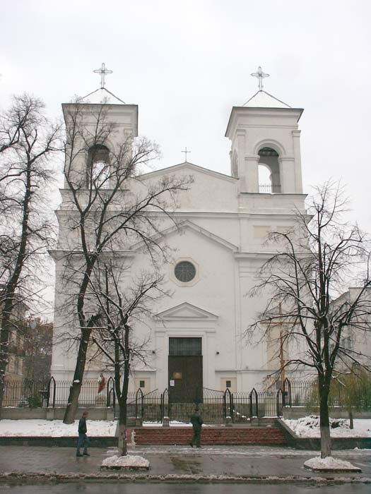 Brest.  Catholic church of the Exaltation of the Holy Cross