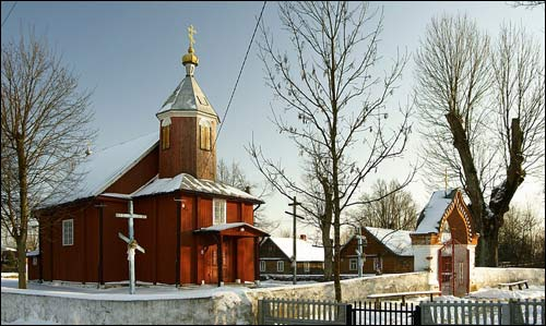 - Orthodox church of the Transfiguration. Exterior