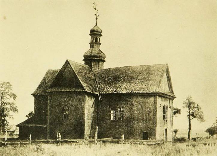 Łyskava.  Uniate Church
