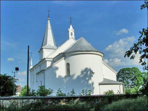Wasilków. Catholic church of the Transfiguration of the Lord
