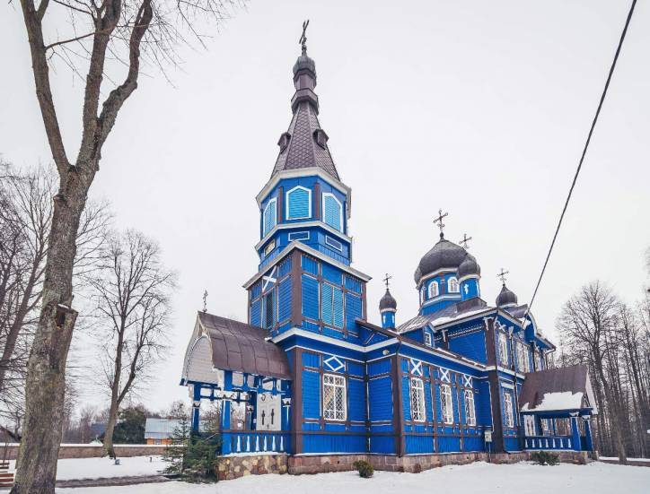 Puchły. Orthodox church of the Protection of the Holy Virgin