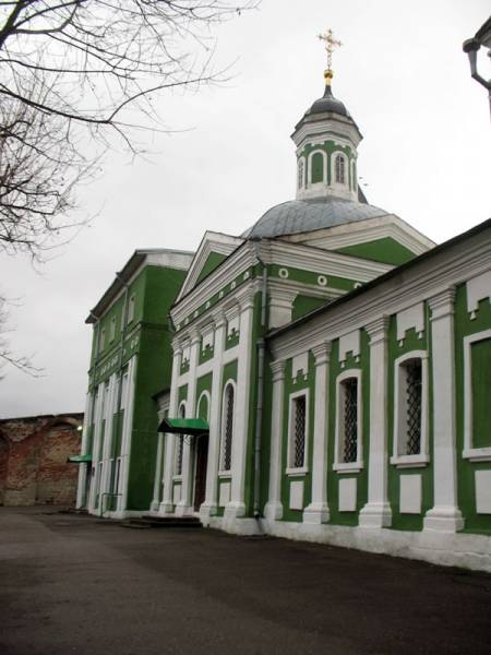 Smolensk. Orthodox church of the Protection of the Holy Virgin