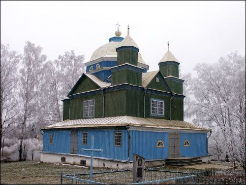 - Orthodox church of the Transfiguration. Exterior (12.2004)