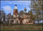 Marcinava.  Orthodox church of the Protection of the Holy Virgin