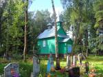 Druja.  Orthodox church at cemetery