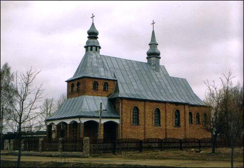 Miažany. Catholic church of Mother of God of Angels