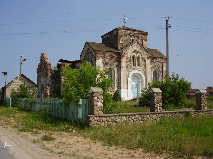Biahoml. Orthodox church of All Saints