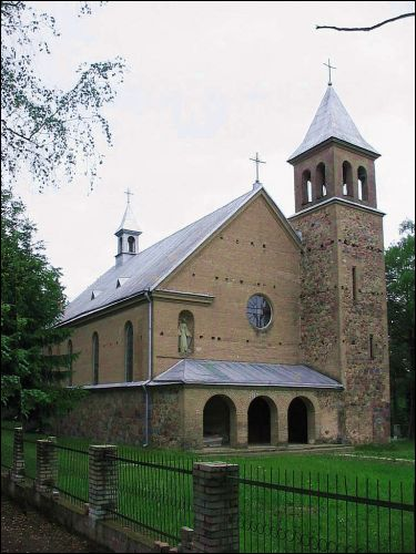 Idoŭta. Catholic church of the Immaculate Conception of Blessed Virgin Mary