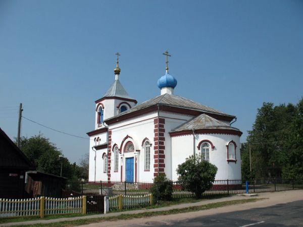 Šarkaŭščyna. Orthodox church of St. Mary