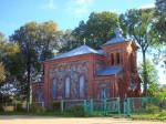 Leskavičy village - Orthodox church of Sergius of Radonezh