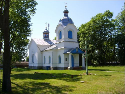 Kosava. Orthodox church of St. Anthony