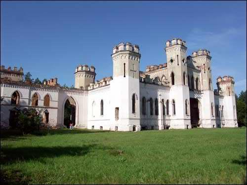 Дворец Пусловских   урочище Меречевщина (Коссово) Брестская область 20019b4c4c1