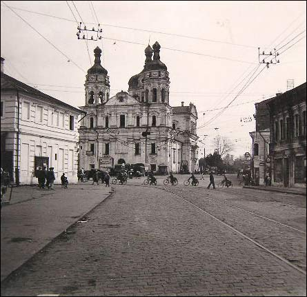 Viciebsk. Town photos from WWII period