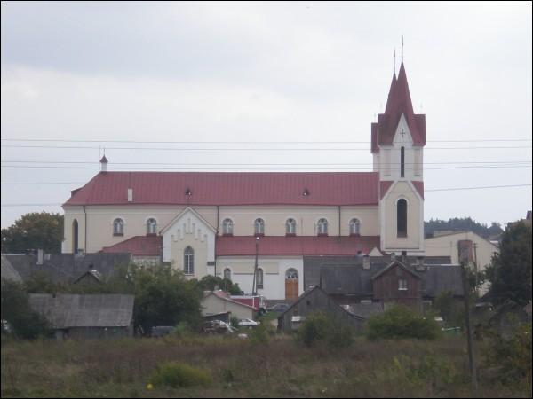 - Catholic church of All Saints. Side view