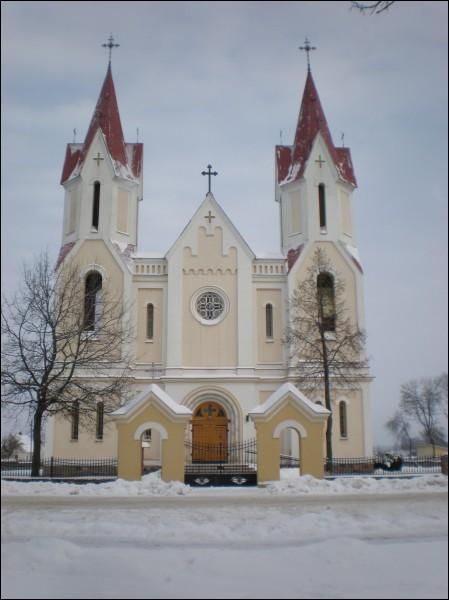 - Catholic church of All Saints.