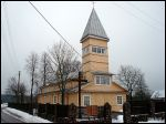 Paluknys.  Catholic church of St. John the Baptist
