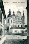 Vilnius city - Catholic church of St. Michael the Archangel and the Bernardine Convent