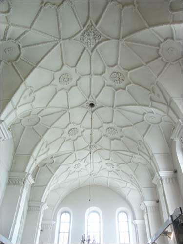 Vilnius |  Catholic church of St. Michael the Archangel and the Bernardine Convent. Vault