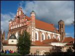 Vilnius.  Catholic church of StSt. Francis and Bernardine and Monastery of Bernardine