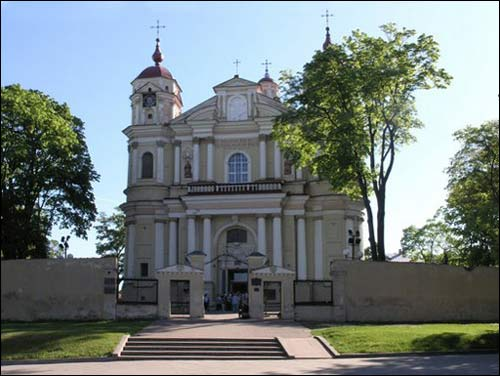 Vilnius. Catholic church of St. Peter and St. Paul