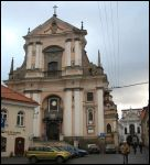 Vilnius.  Catholic church of St. Theresa (of the Carmelites)