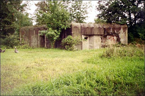 Aharodniki (Voŭčynski s/s). Defensive Fortifications