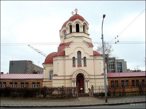 Vilnius. Orthodox church of St. Michael the Archangel