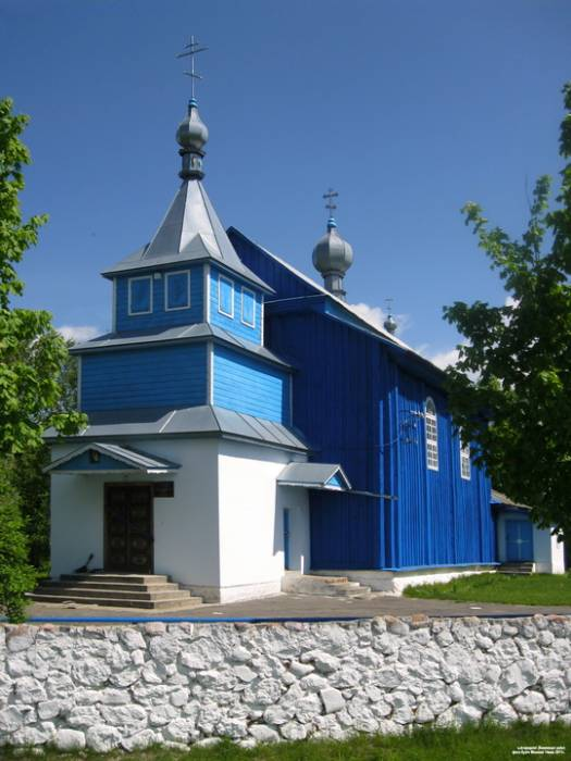 Stavy. Orthodox church of St. Anufry