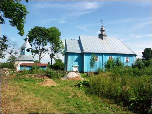 Vojskaja.  Orthodox church of the Holy Trinity