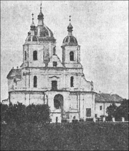 Białyničy. Catholic church of Mother of God of the Scapular and the Monastery of Carmelite