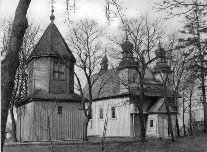 Dzivin. Orthodox church of St. Paraskieva
