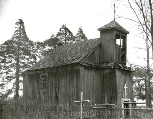 - Orthodox church of St. George. Church at photo frm 1980th