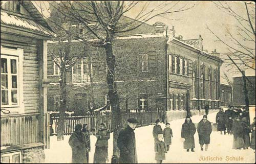 Švenčionys |  Synagogue . Synagogue at the german postcard from 1916-18