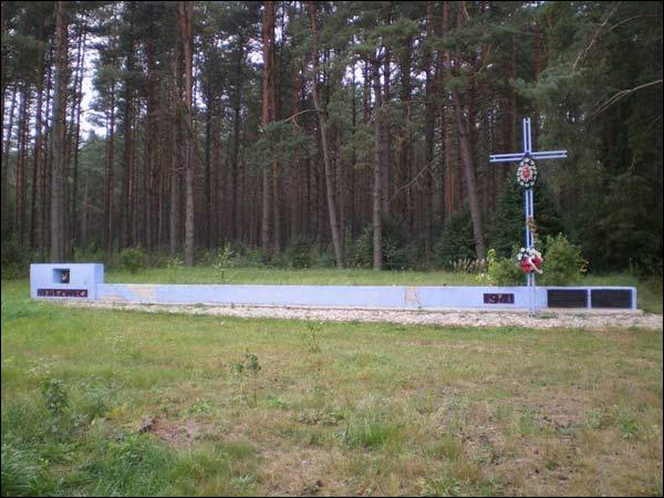 Mikałajeva.  Memory place of the kill of citizenry from Belarus and Poland by communists