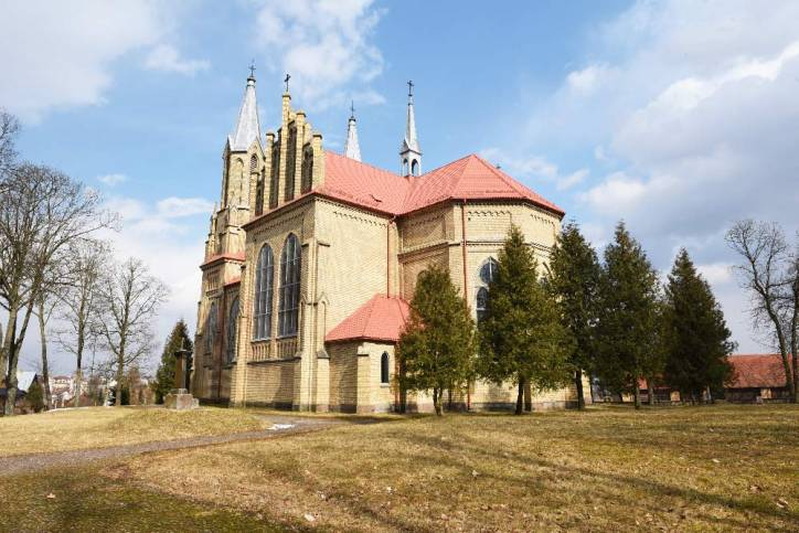 - Catholic church of St. Anne. Exterior