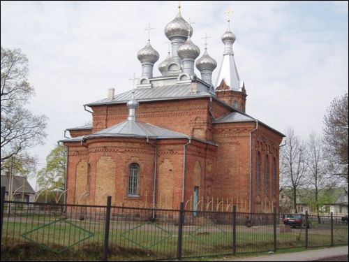 Łuniniec. Orthodox church of the Exaltation of the Holy Cross