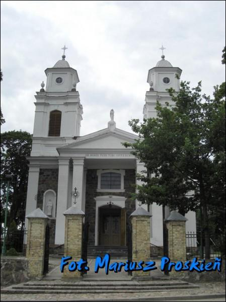 Lazdijai. Catholic church of St. John the Baptist