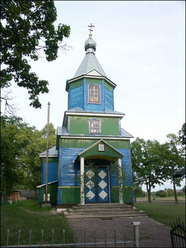 Čarniany. Orthodox church of the Birth of the Virgin
