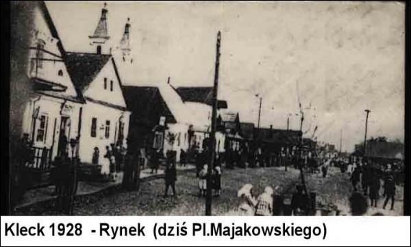Kleck. Town at the old photos